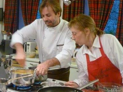Luca Montersino ospite a La scuola di cucina di Lella